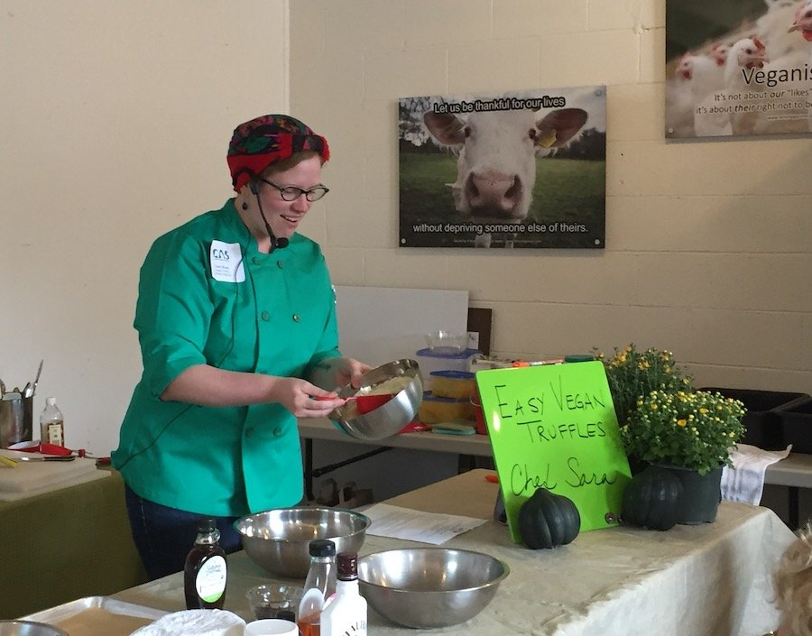 Chef Sara Boan of Catskill Animal Sanctuary