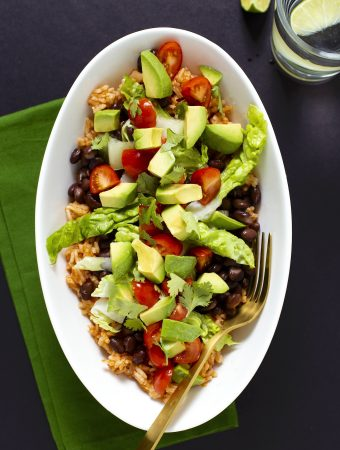 Mexican Rice Bowl by Toni Okamoto