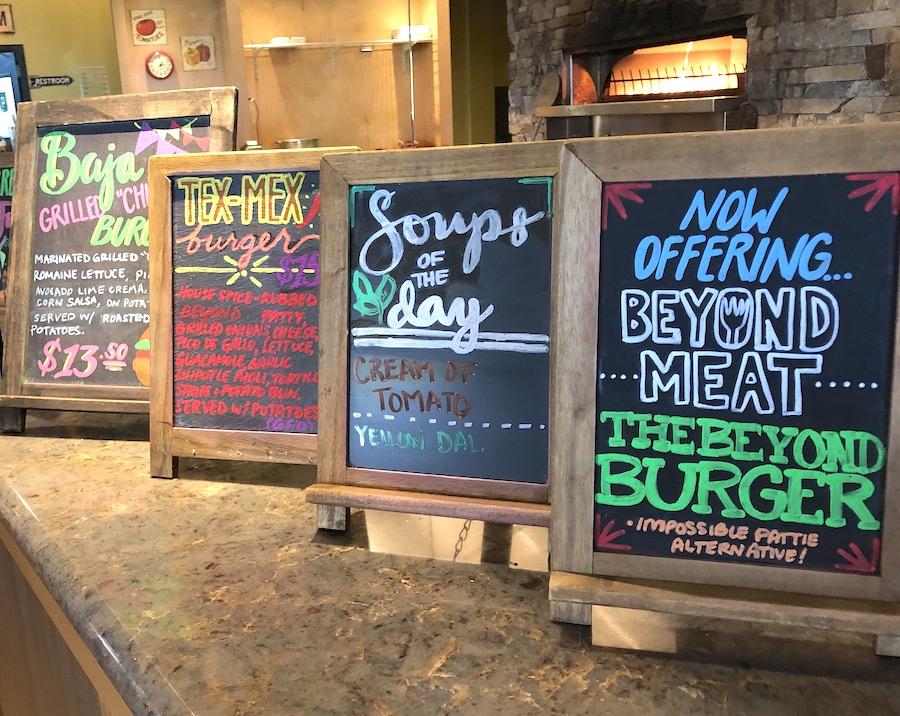 Pulse café menus