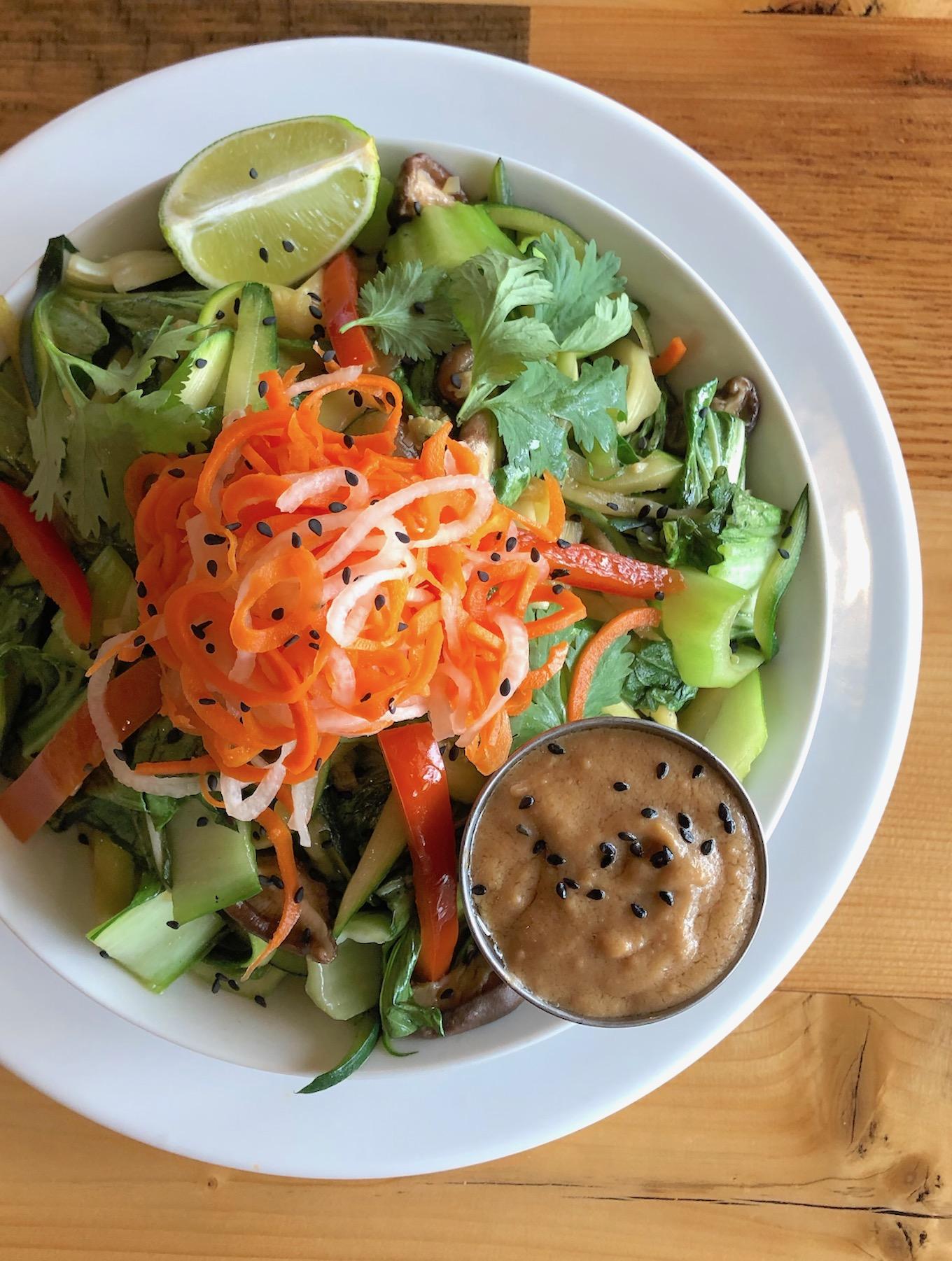 Pulse café Thai noodle bowl