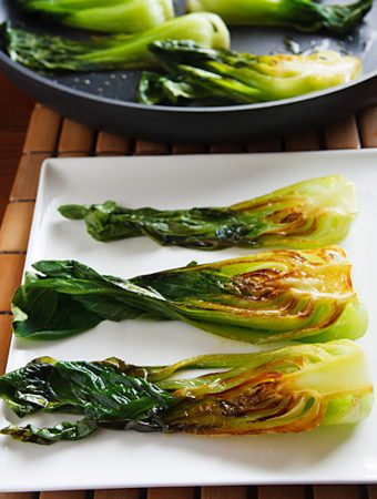 Seared Baby Bok Choy