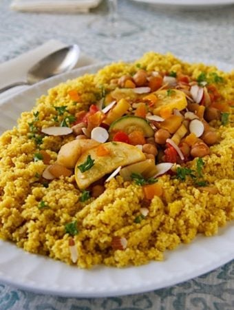 Seven Vegetable Couscous for Rosh Hashanah