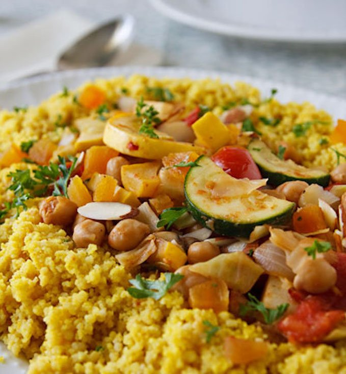 Seven Vegetable Couscous for the Jewish New Year