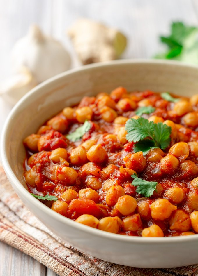 Chana Masala - Super Easy Chickpea curry