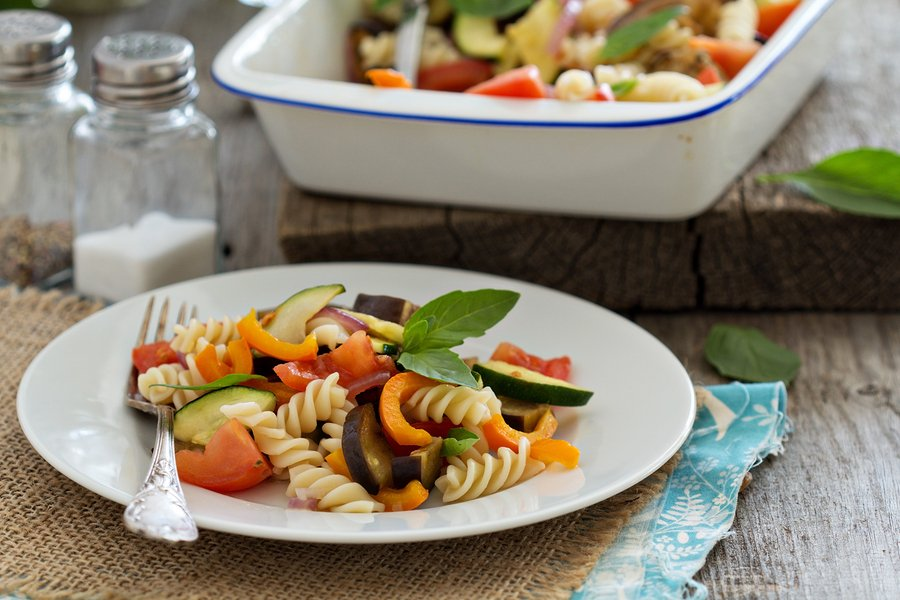 Balsamic roasted ratatouille for pasta and more