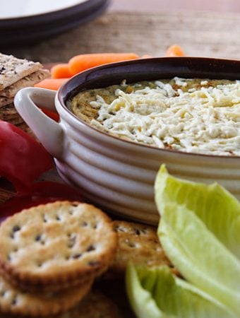 Vegan Hot Artichoke Dip