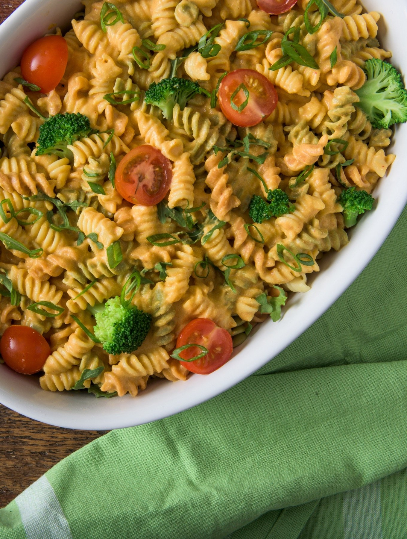 Cheesy Primavera Mac from Vegan Mac & Cheese by Robin Robertson