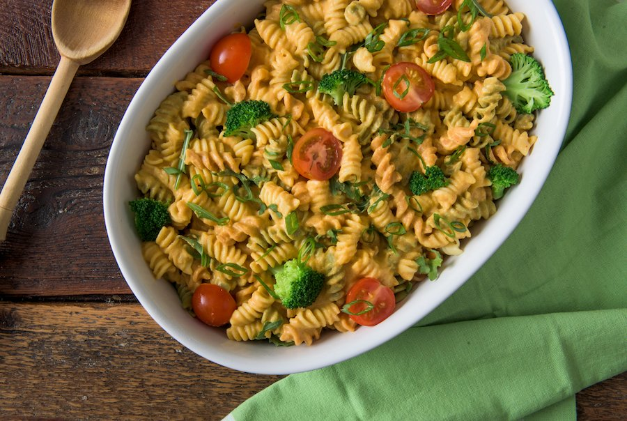 Cheesy Primavera Mac by Robin Robertson