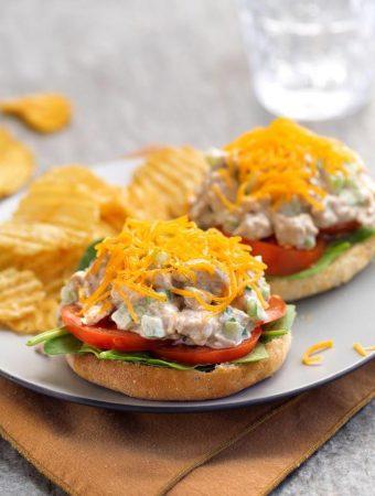 Vegan Tofuna Melt Sandwich