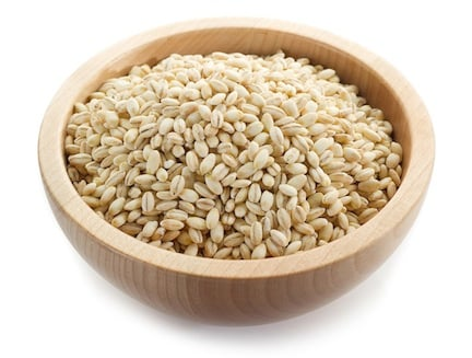 Barley in a bowl