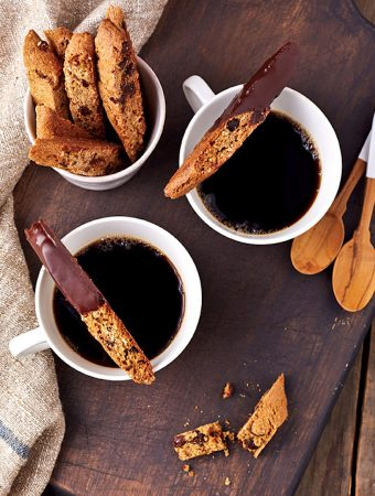 Fran Costigan's Chocolate Chip Almond Biscotti