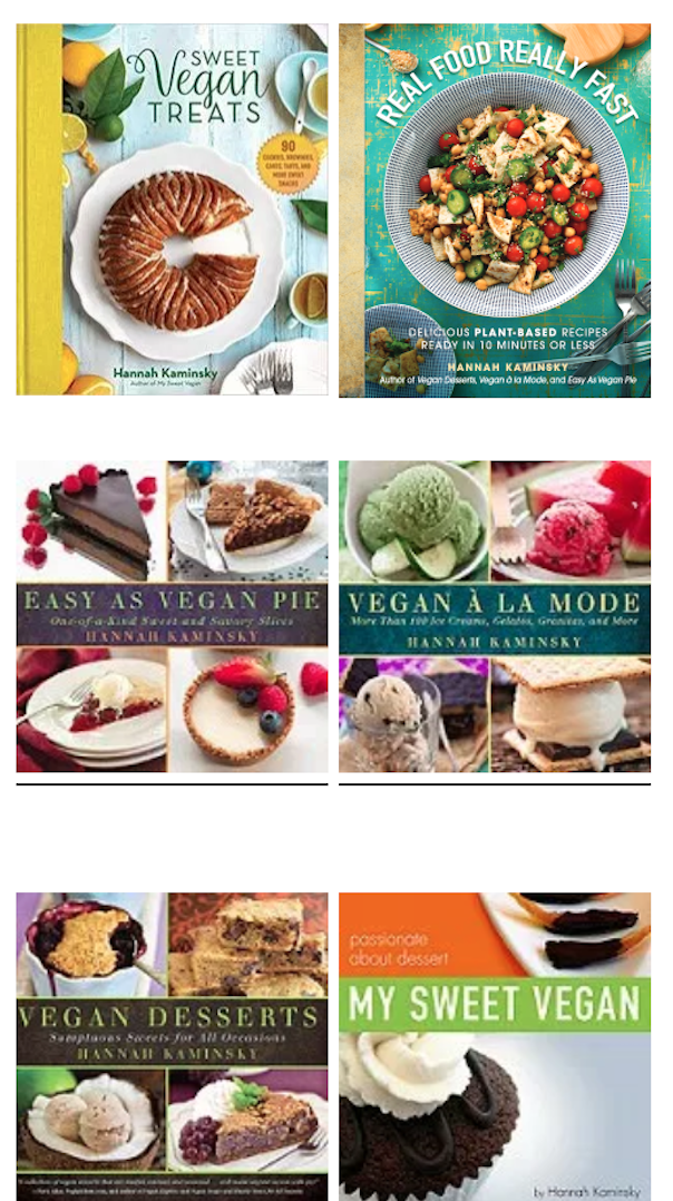 Hannah Kaminsky cookbooks