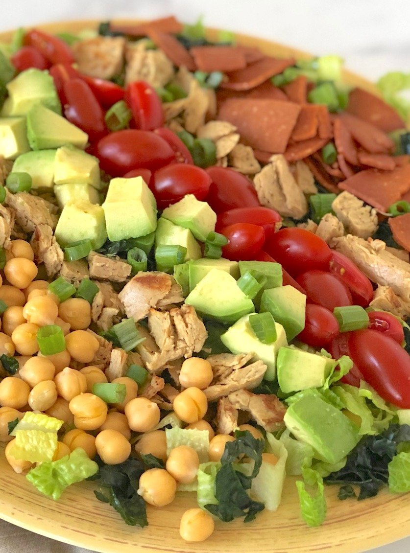 Vegan Cobb Salad, and American classic made plant-based