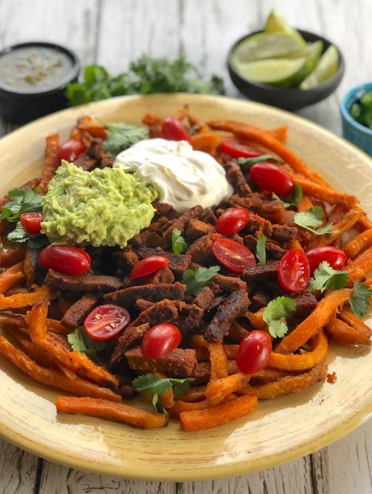Vegan Carne Asada Fries