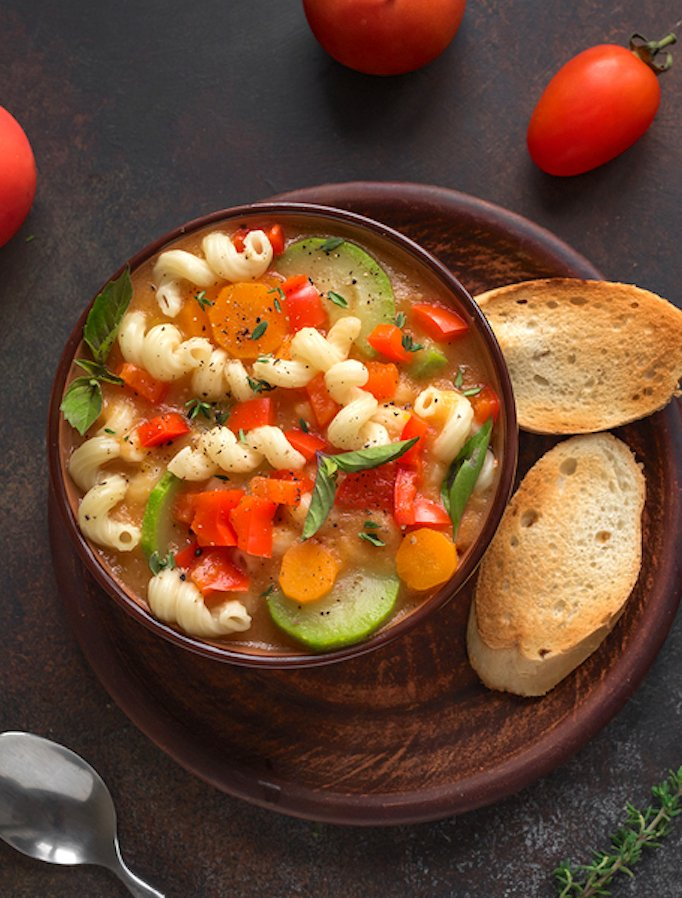 Hearty Pasta Vegetable Soup Soup