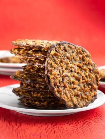 Vegan Lace Florentine Cookies sm