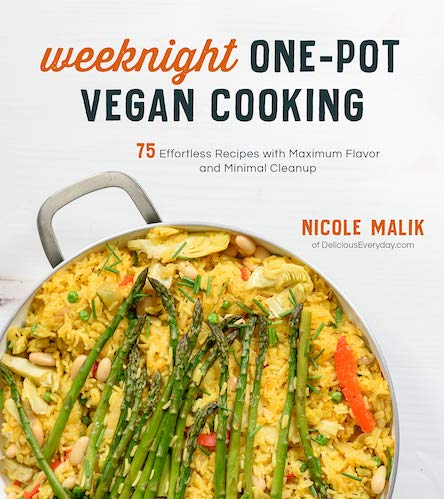 Weeknight one-pot vegan cooking by Nicole Malik