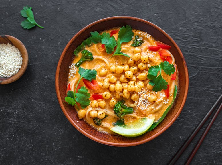 Vegan Laksa Soup