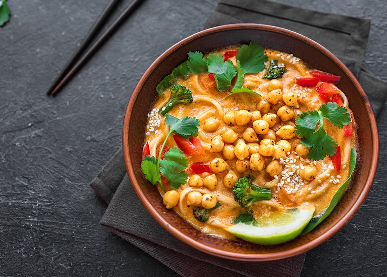 Fast & easy Easy Vegan Laksa Soup