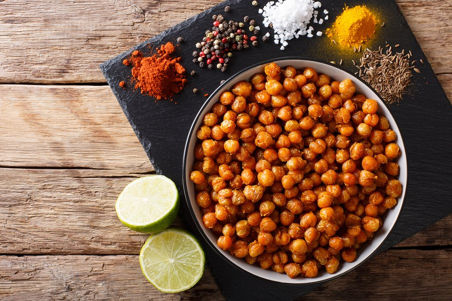 Curry Lime Chickpeas