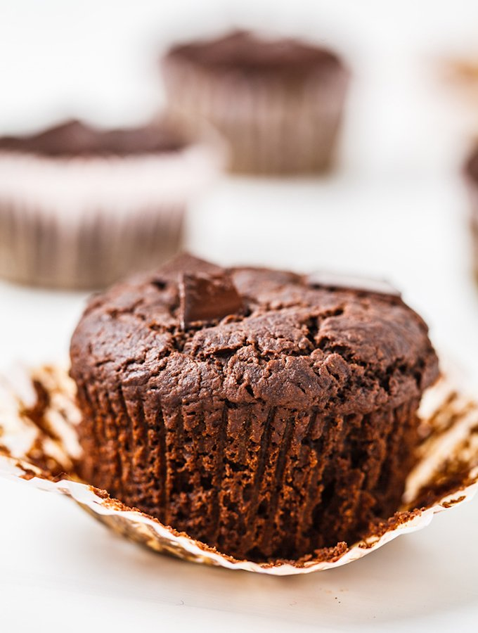 Chocolate Chunk Vegan Muffin