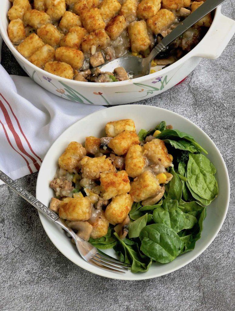Vegan Hotdish recipe