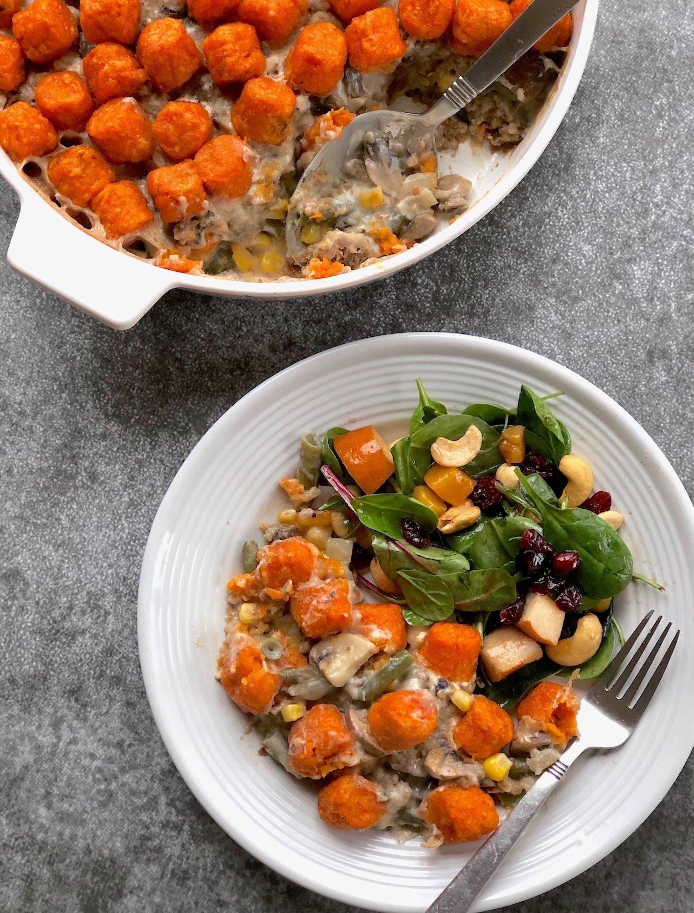 Vegan hotdish casserole2