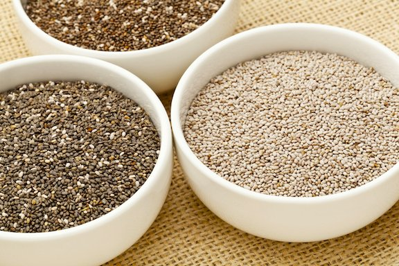 Chia seeds varieties
