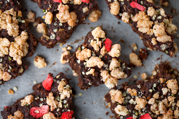 Chocolate Granola Clusters