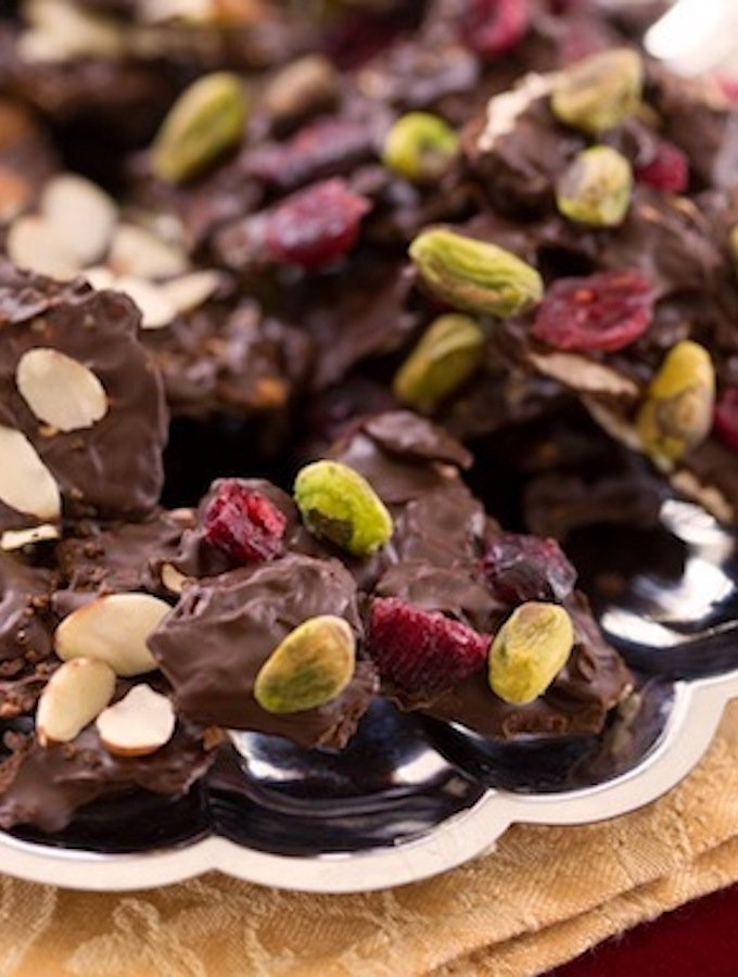 Vegan Chocolate covered matzo