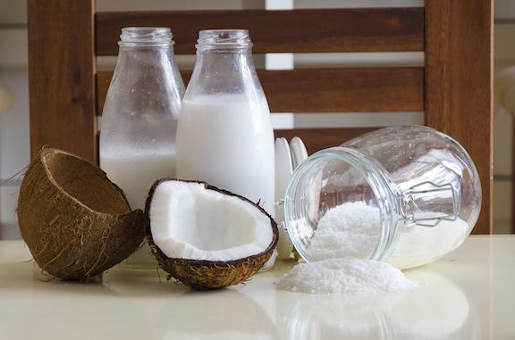 Homemade coconut milk