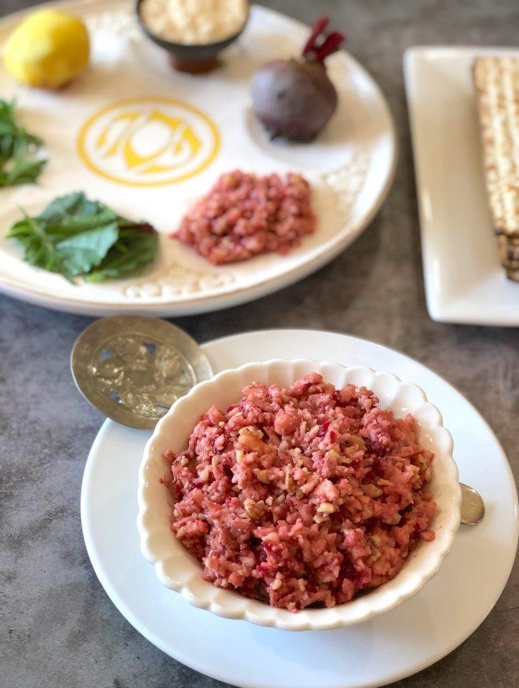 Traditional Ashkenazik Haroset for Passover