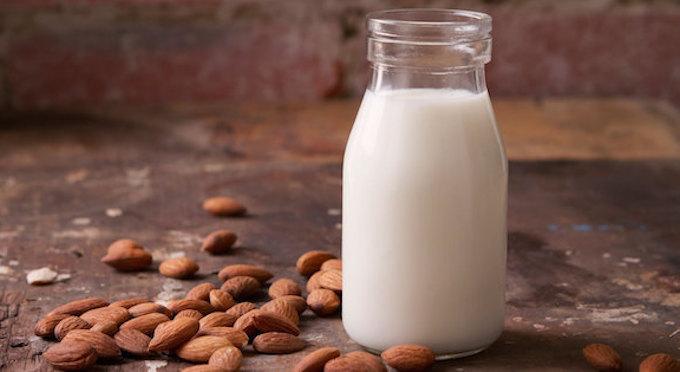 Protein Almond milk recipe