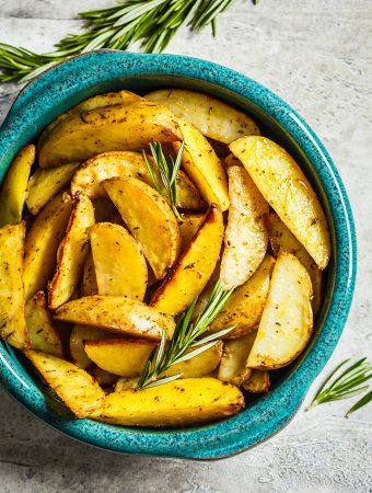 Lemon Rosemary Roasted Potatoes