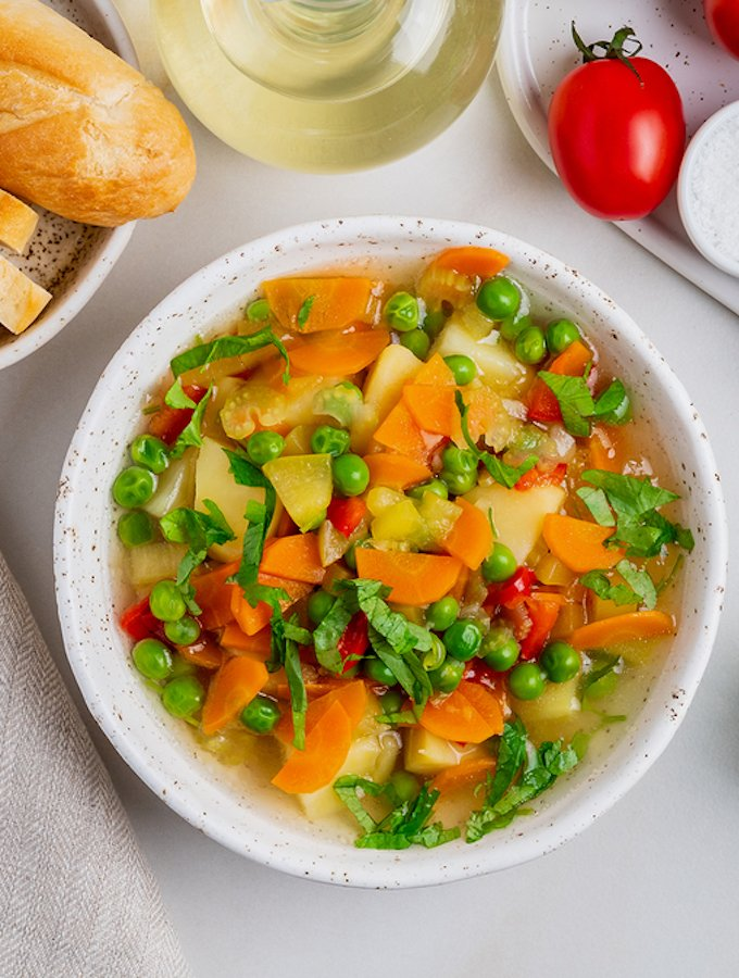 Simple Spring Vegetable Soup The Vegan Atlas