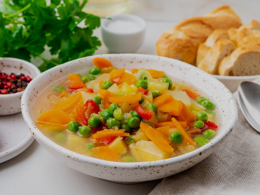 Easy Spring Vegetable Soup