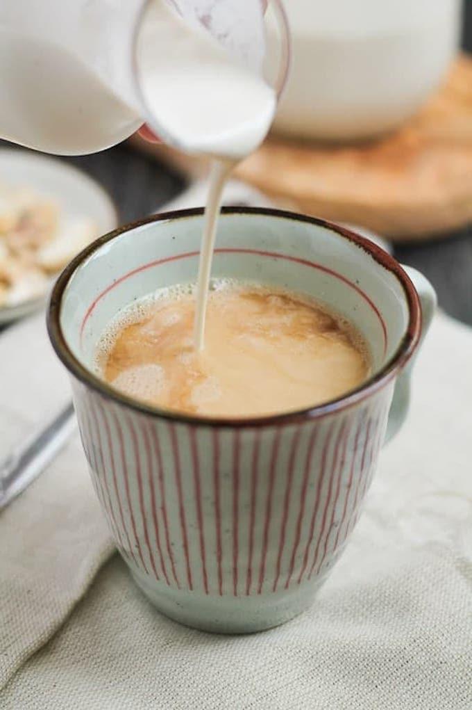 Vanilla Cashew Coffee Creamer Recipe