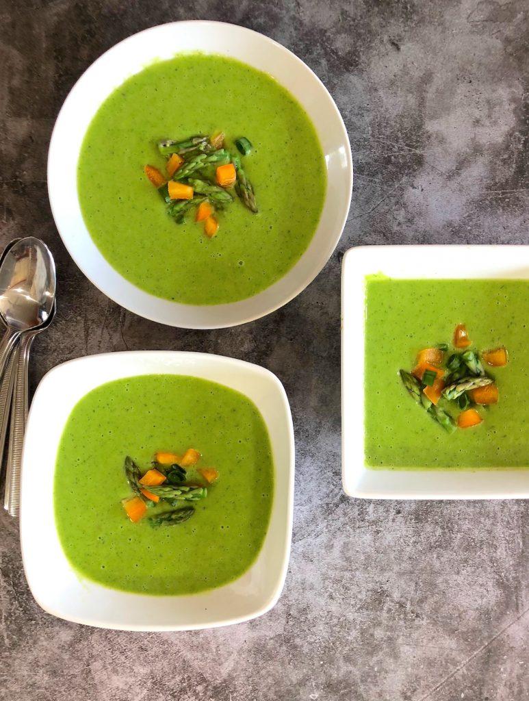 Vegan Cream of Asparagus Soup