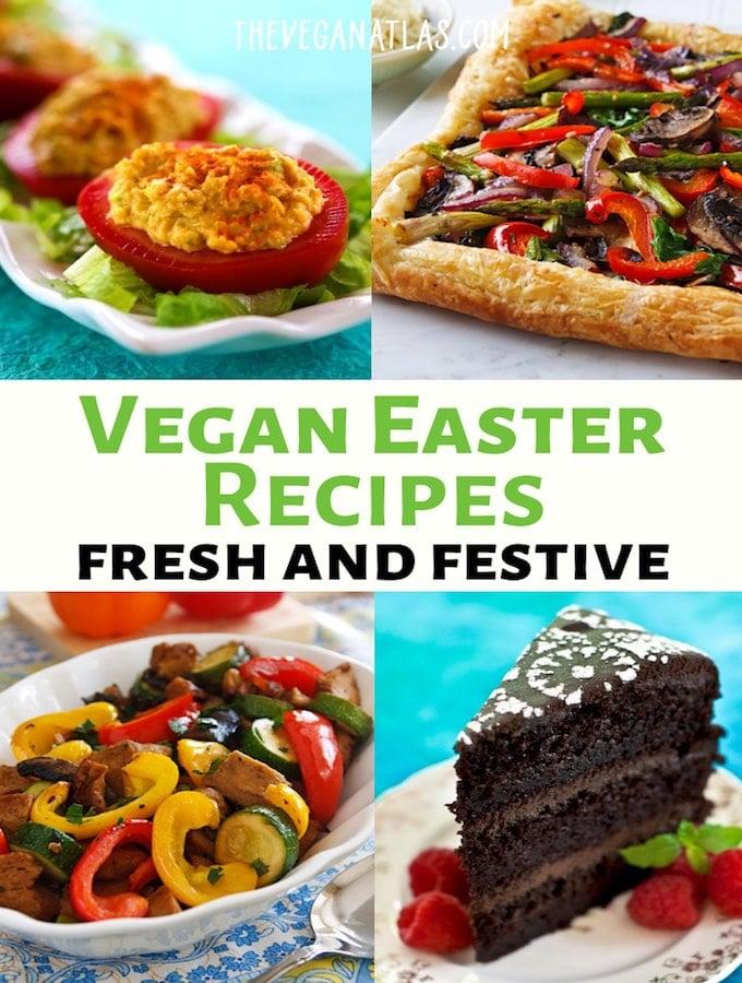 Vegan Easter Recipes roundup