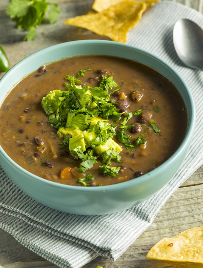 Black Bean Soup from scratch