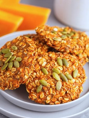 Vegan Oatmeal Pumpkin or Butternut Squash Scones