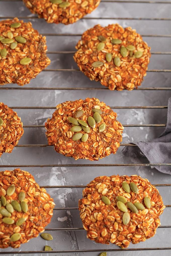 Vegan Oatmeal Butternut Squash or pumpkin Scones
