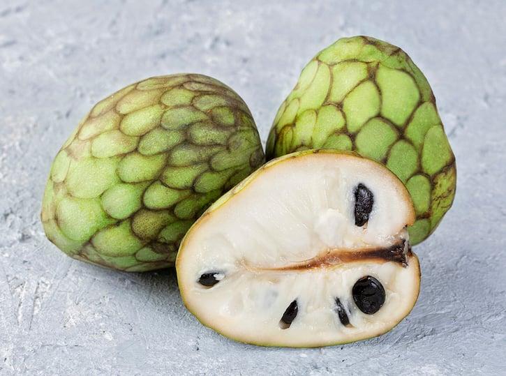 Cherimoya fruits