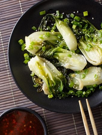 Ginger & Garlic Stir-Fried Bok Choy