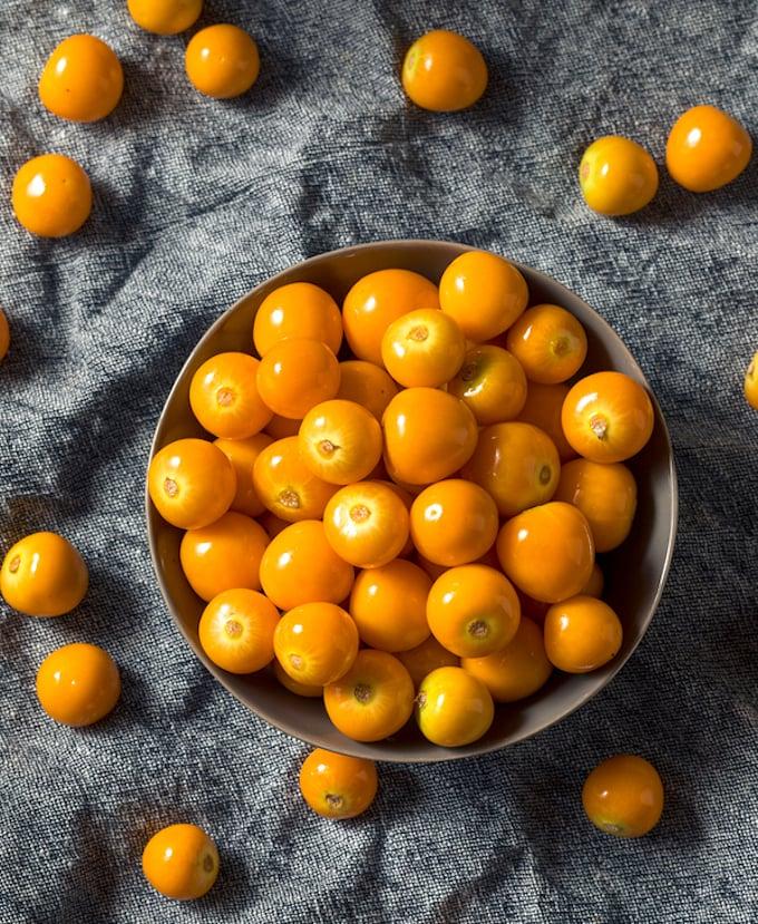 Orange Gooseberries