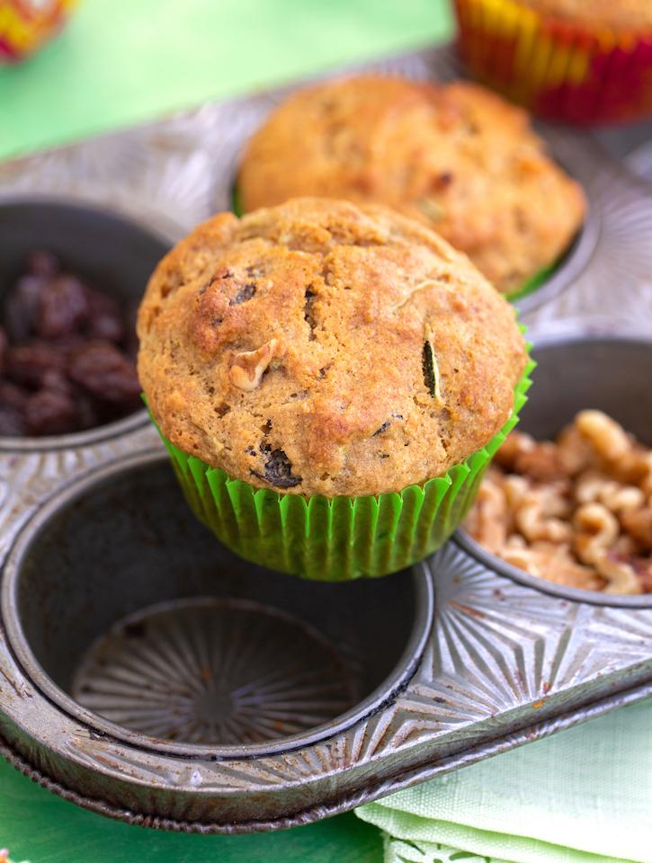 vegan Zucchini Muffins recipe
