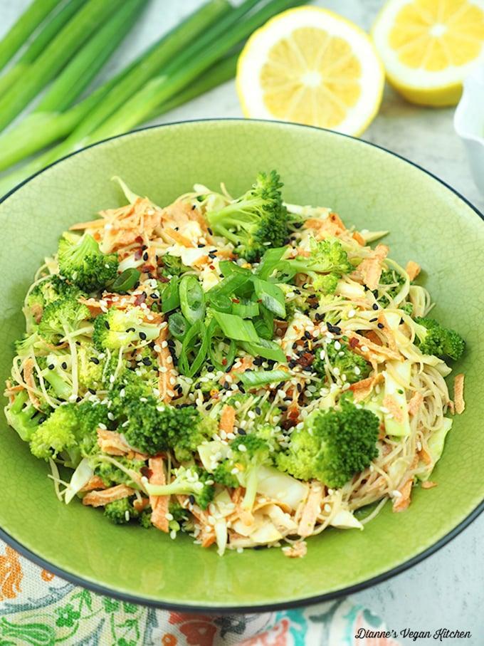 Vegan Tahini Noodles