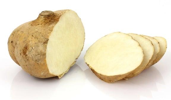 Jicama Sliced