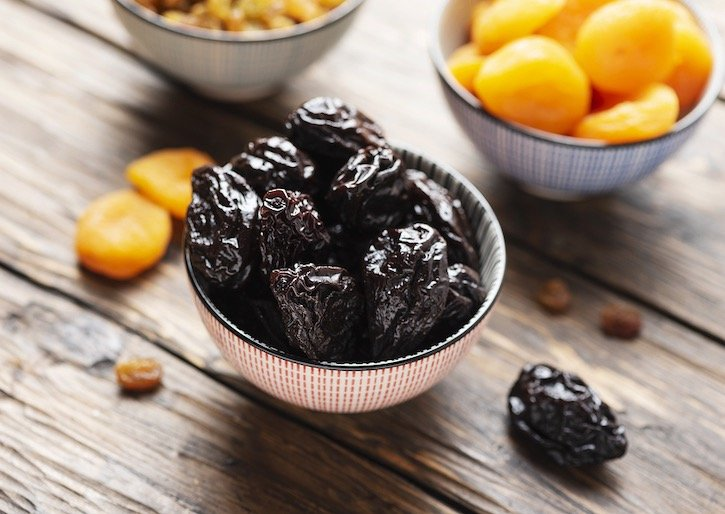 Prunes (dried plums)