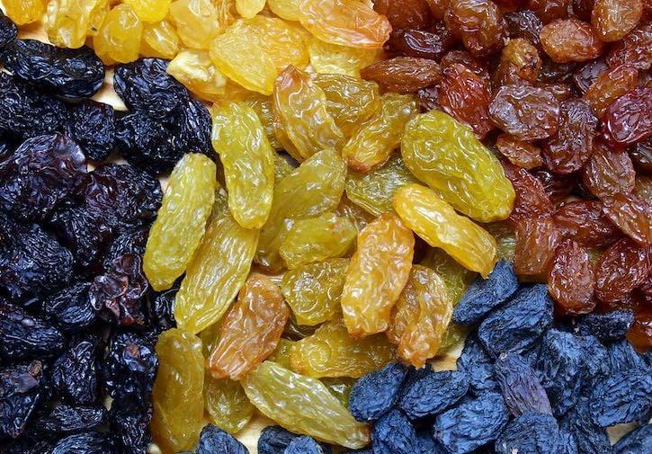 Varieties of Raisins